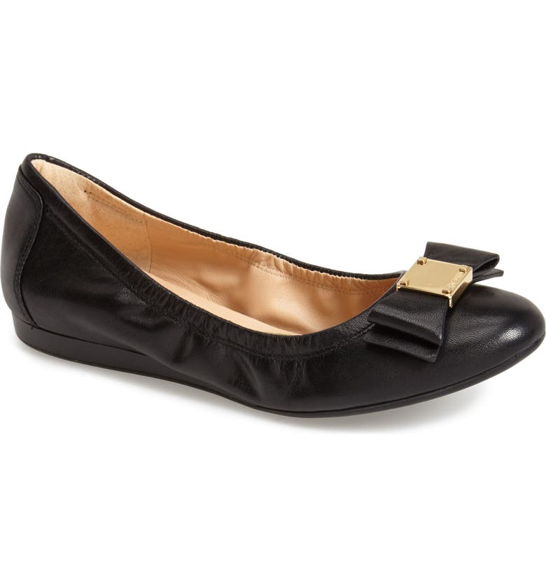 COLE HAAN 'Tali' Bow Ballet Flat, Main, color, 001