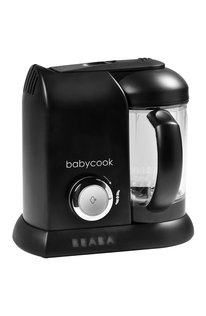 BEABA Babycook Baby Food Maker, Main, color, BLACK