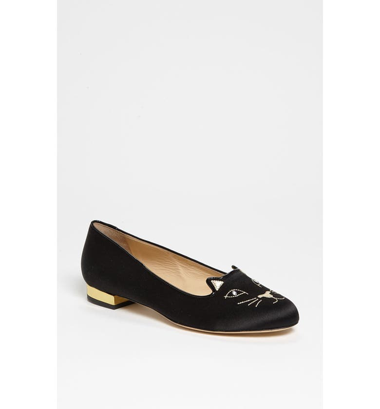 CHARLOTTE OLYMPIA 'Kitty' Flat, Main, color, 001