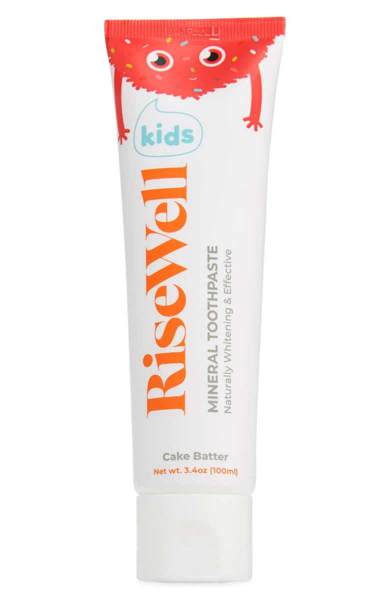 RISEWELL Cake Batter Kids' Mineral Toothpaste, Main, color, NO COLOR