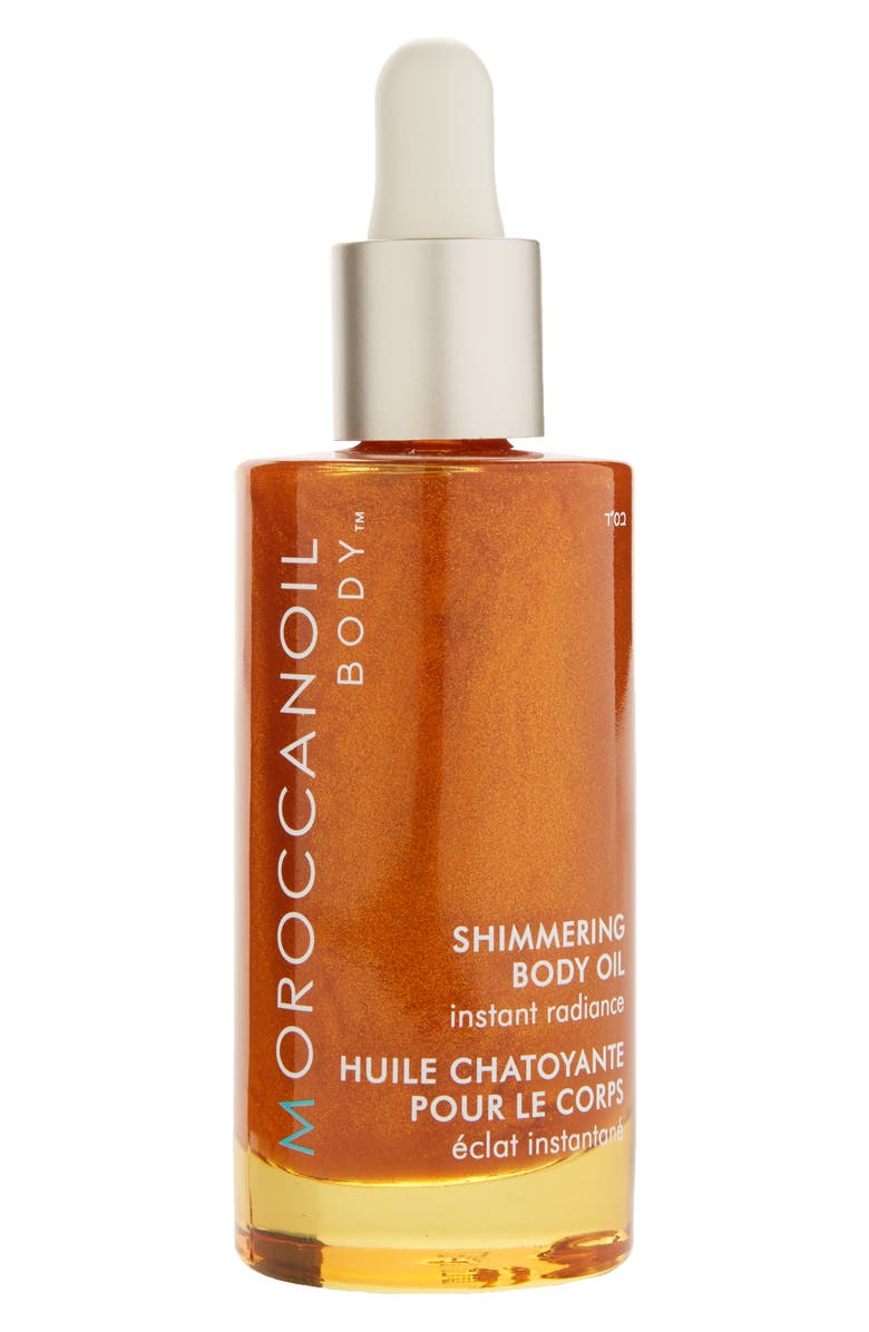 MOROCCANOIL<SUP>®</SUP> Instant Radiance Shimmering Body Oil, Main, color, No Color