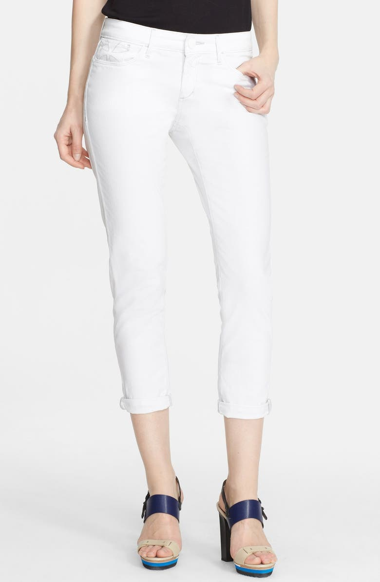 HABITUAL 'Aaron' Rolled Crop Jeans, Main, color, FROST