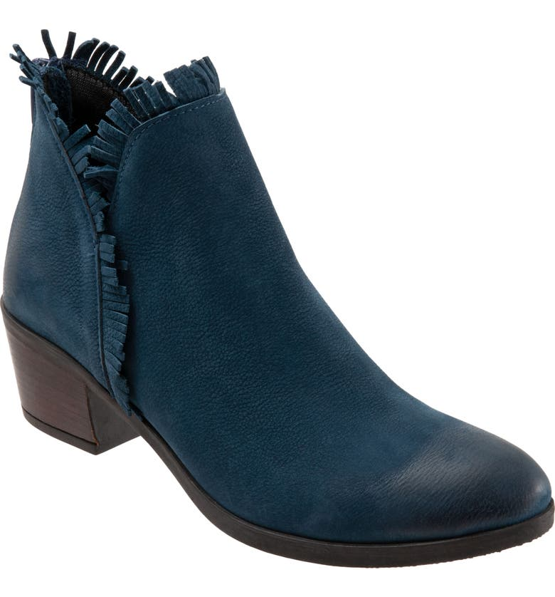 BUENO Cathy Bootie, Main, color, BLUE NUBUCK