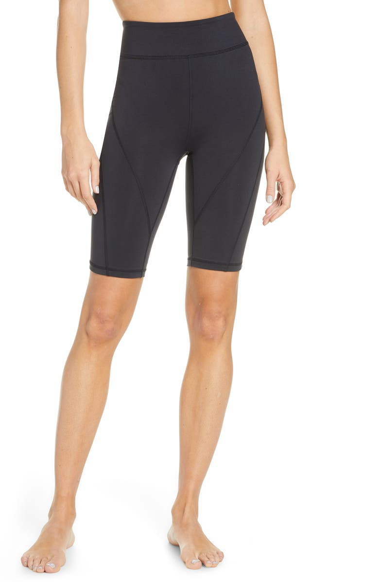 FREE PEOPLE FP MOVEMENT Free People Movement Bike Baby Shorts, Main, color, BLACK