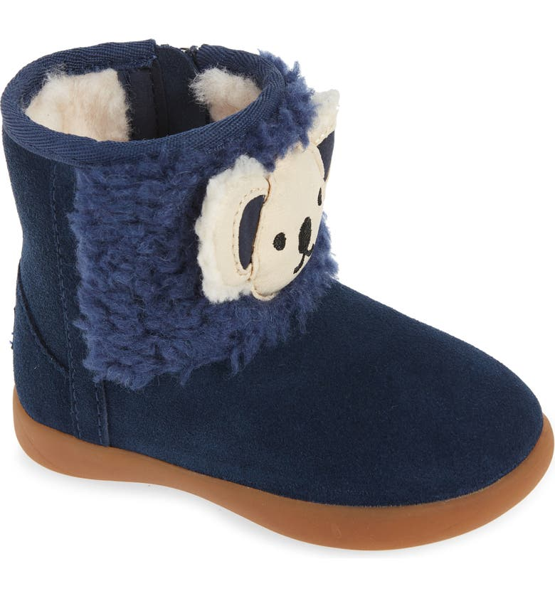UGG<SUP>®</SUP> Stuffie Boot, Main, color, NAVY SUEDE