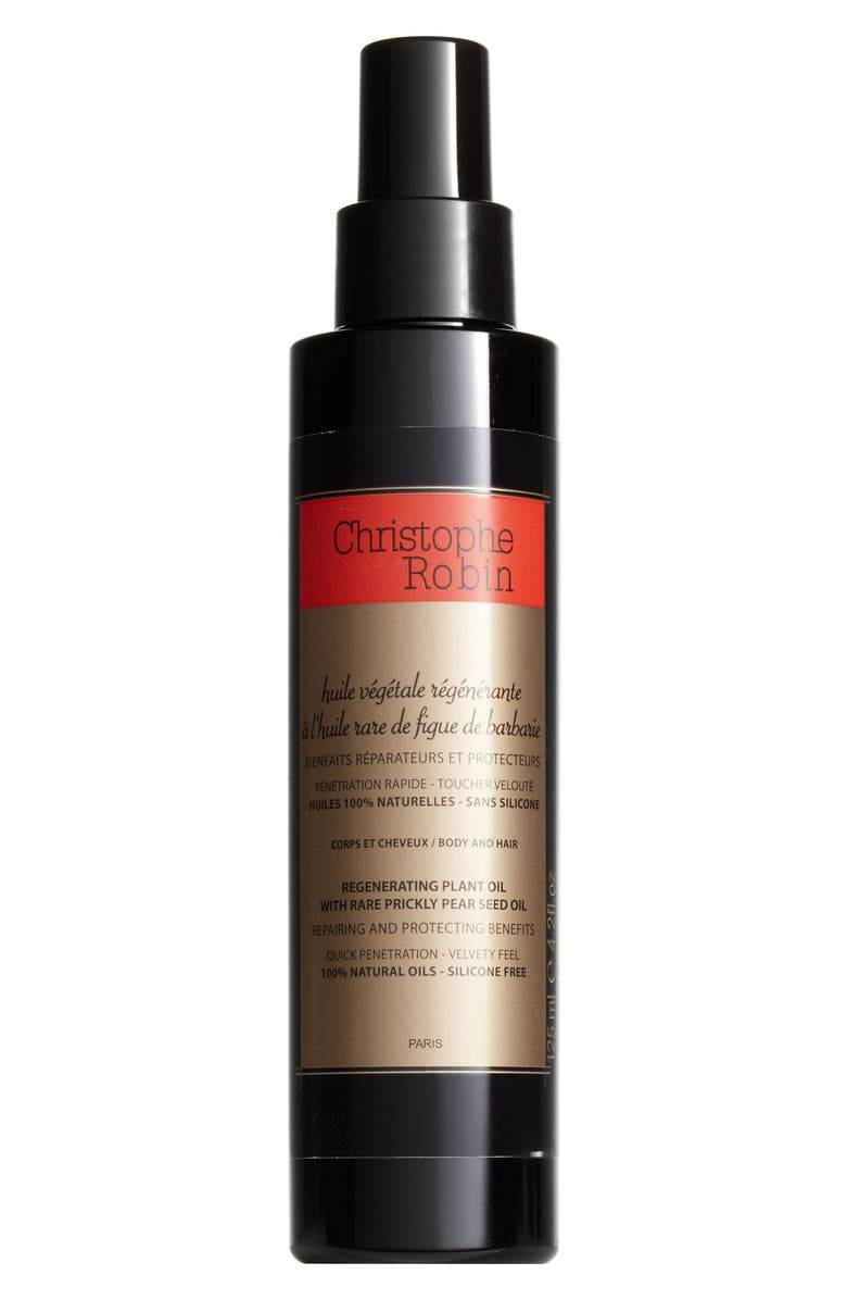 CHRISTOPHE ROBIN Regenerating Plant Oil with Rare Prickly Pear Seed Oil, Main, color, 000