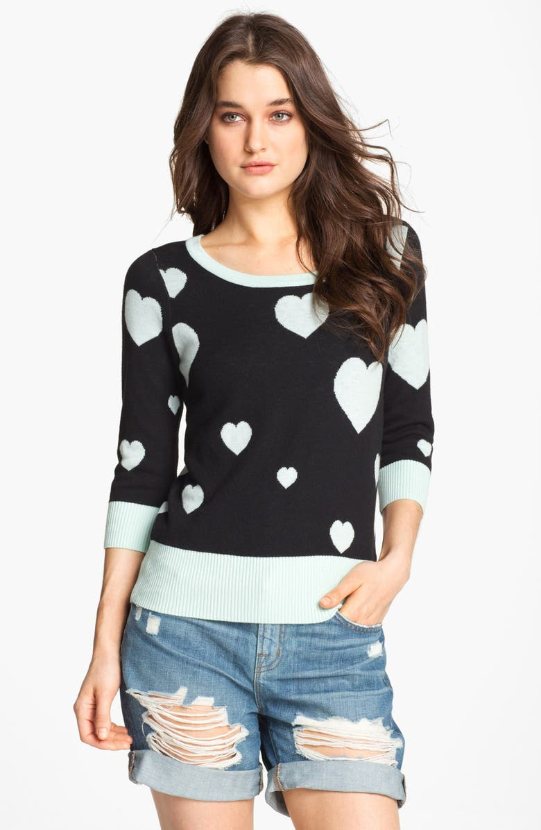 REMAIN Hearts Sweater, Main, color, 339