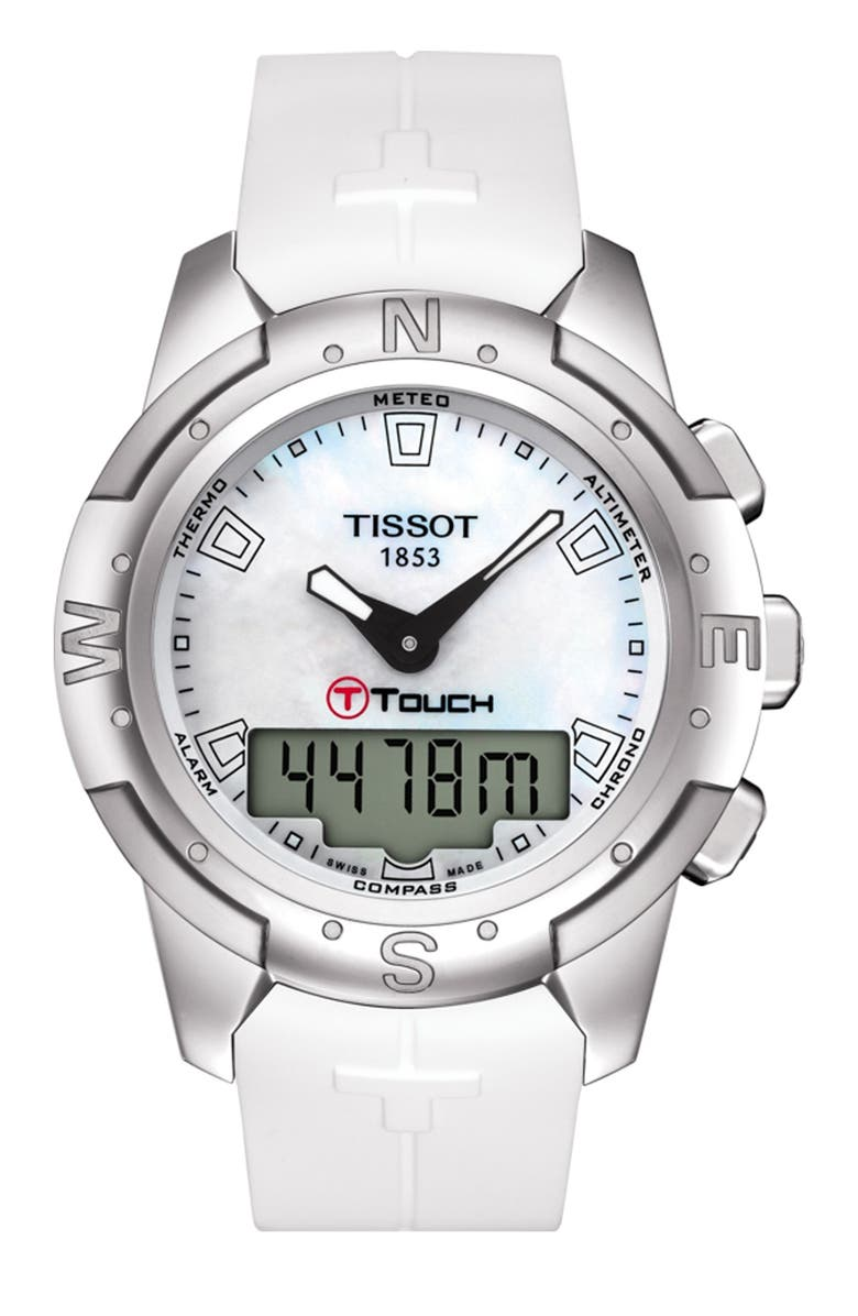 TISSOT Women's T-Touch II Sport Watch, 43.3mm, Main, color, NONE