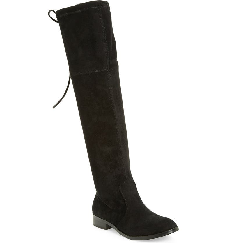 VERY VOLATILE 'Briar' Over the Knee Boot, Main, color, Black