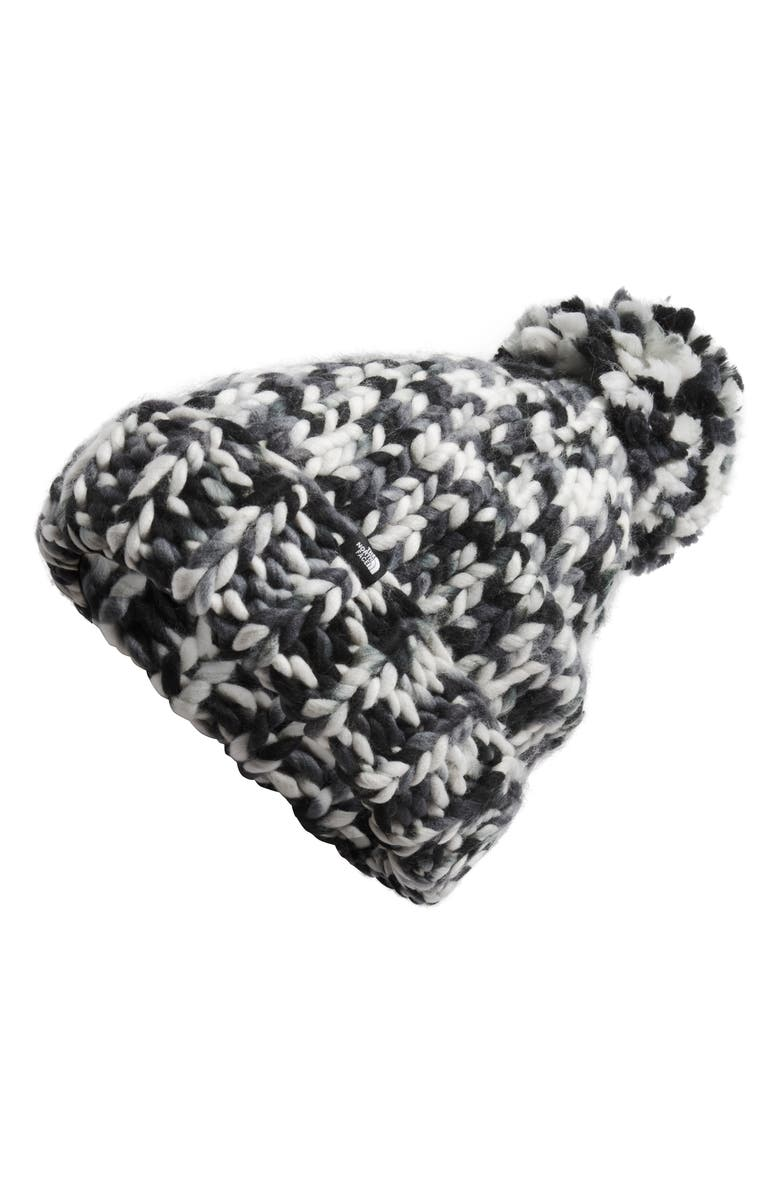 THE NORTH FACE Nanny Knit Beanie, Main, color, 002