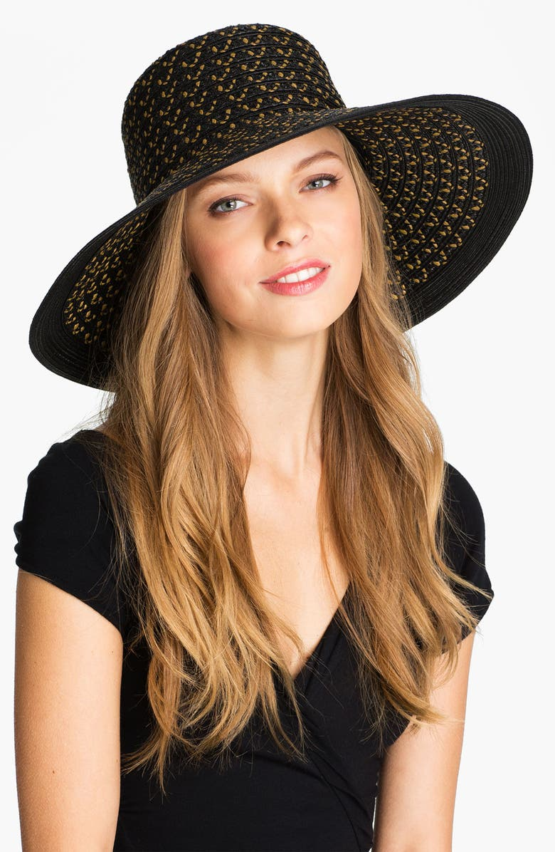 ERIC JAVITS 'Squishee<sup>®</sup> Shade' Sun Hat, Main, color, HICKORY