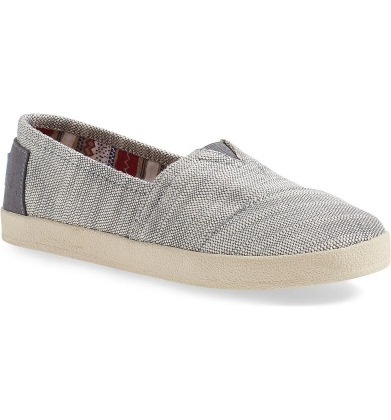 TOMS Avalon Slip-On, Main, color, 020