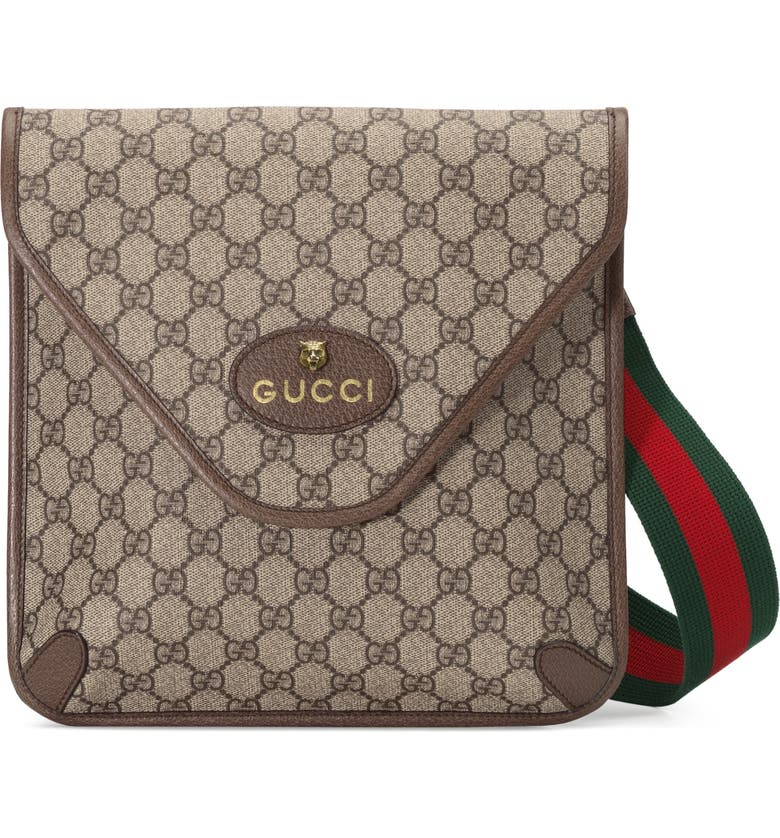 GUCCI Neo Vintage GG Supreme Medium Messenger Bag, Main, color, 200
