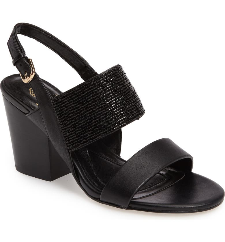 ISOLÁ Lia Block Heel Sandal, Main, color, 001
