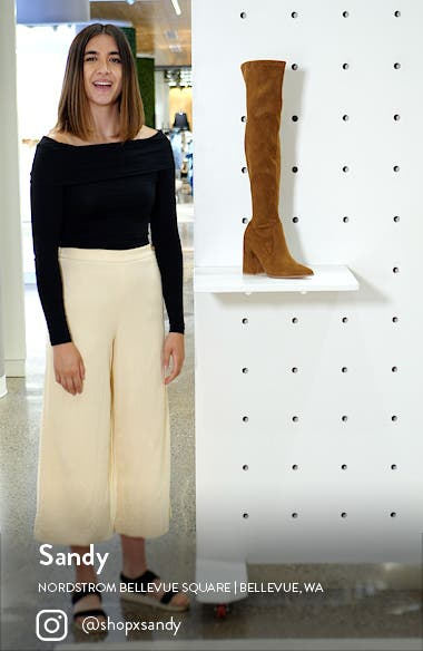 Tava Over the Knee Boot, sales video thumbnail