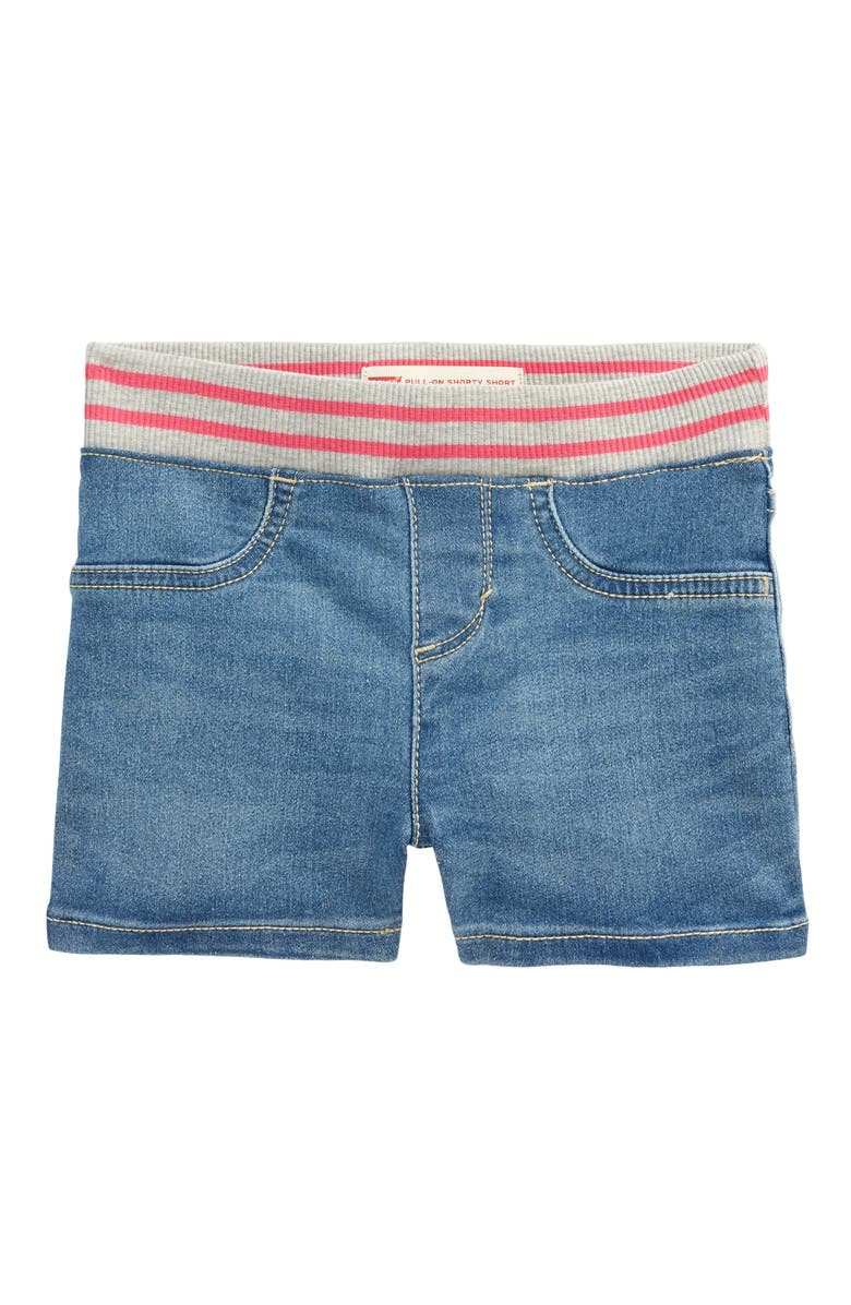 LEVI'S<SUP>®</SUP> Kids' Shorty Pull-On Denim Shorts, Main, color, THE OTHER GUY