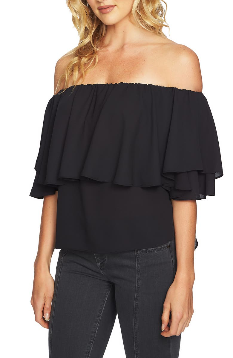 1.STATE Ruffle Off the Shoulder Top, Main, color, 006