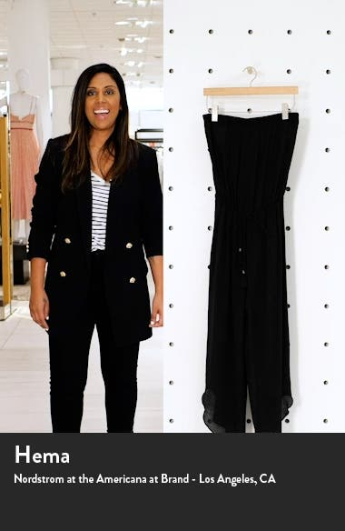 Strapless Cover-Up Jumpsuit, sales video thumbnail