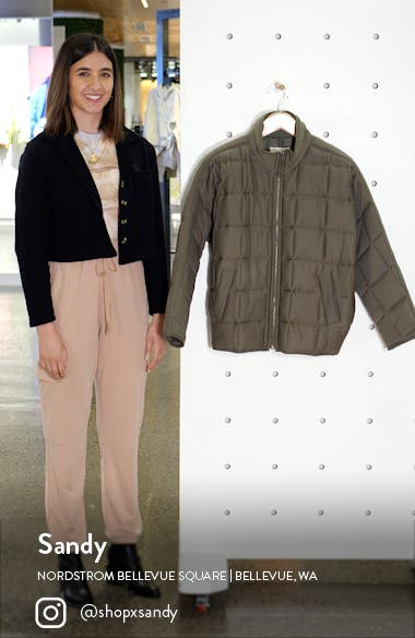 Dolman Sleeve Quilted Jacket, sales video thumbnail