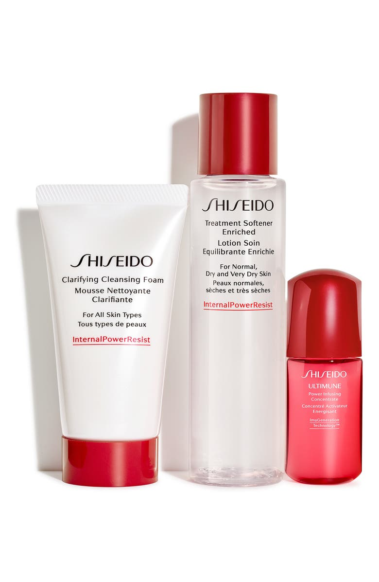 SHISEIDO Shisiedo The Gift of Cleansing Essentials Set, Main, color, 000