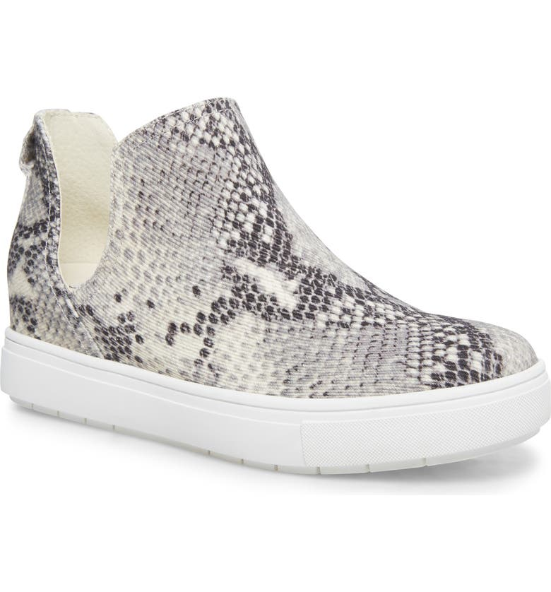 STEVEN NEW YORK Canares High Top Sneaker, Main, color, NATURAL SNAKE CANVAS
