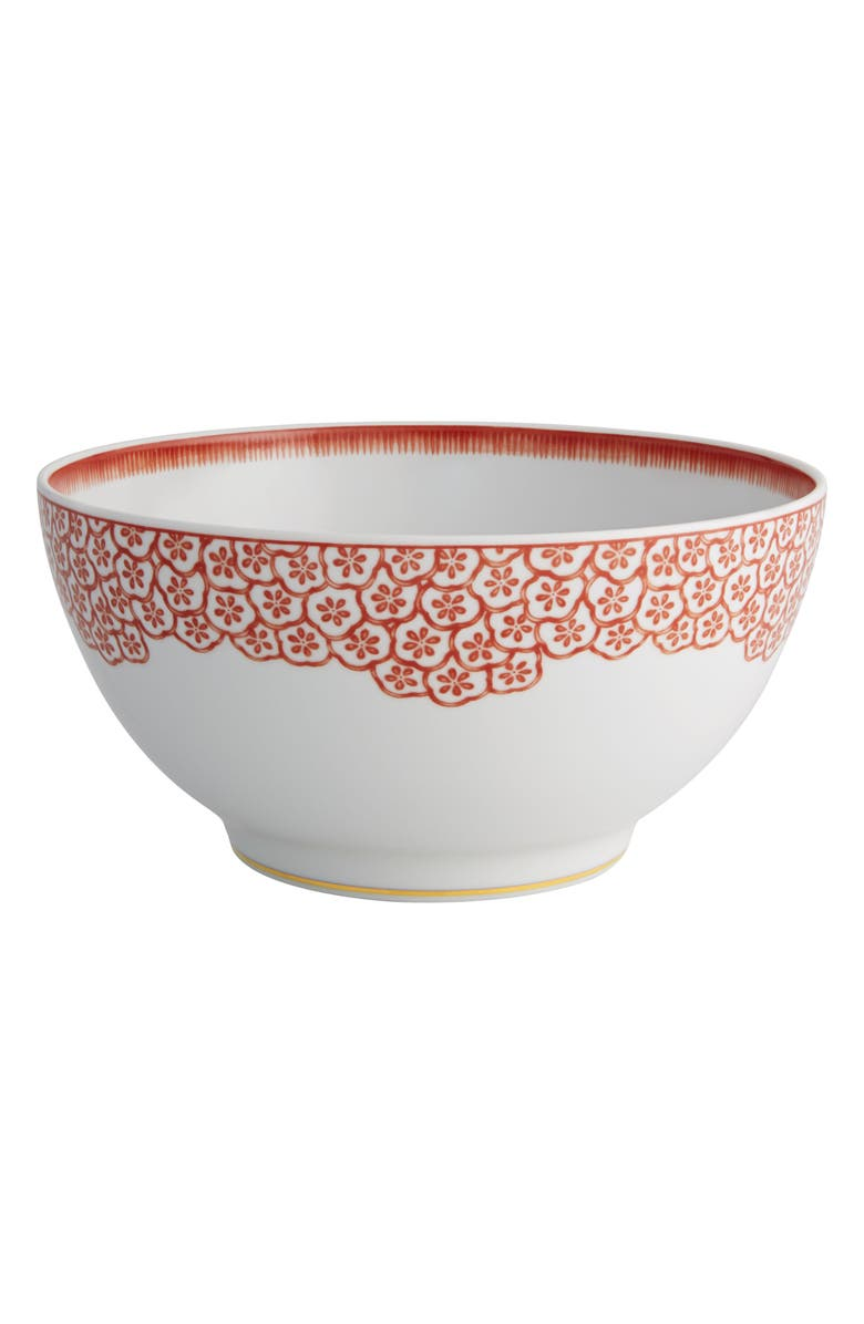 OSCAR DE LA RENTA Coralina Salad Bowl, Main, color, 100