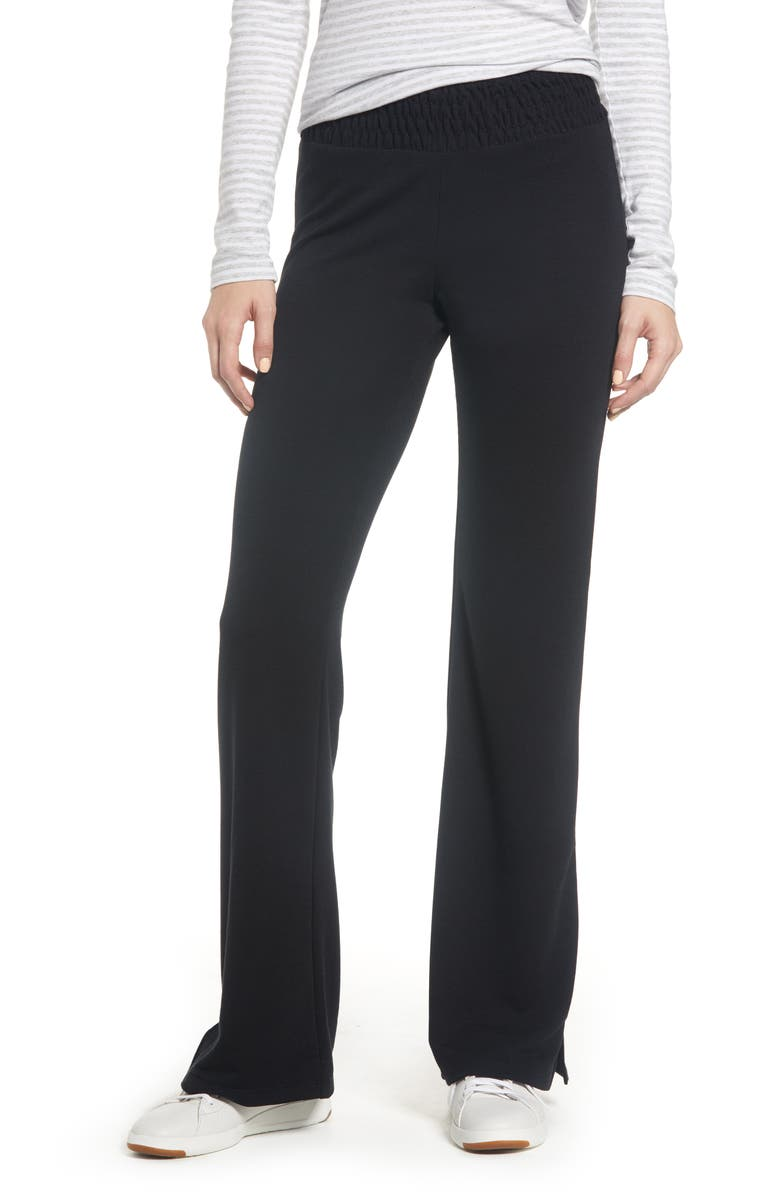 CASLON<SUP>®</SUP> Off Duty French Terry Pants, Main, color, 001