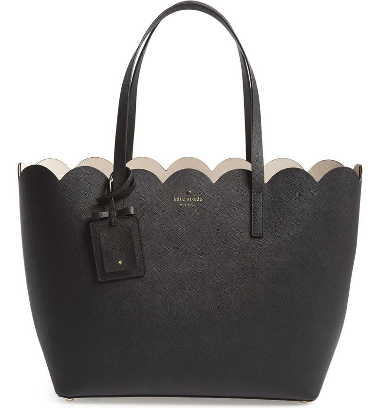 KATE SPADE NEW YORK 'lily avenue - carrigan' leather tote, Main, color, 019