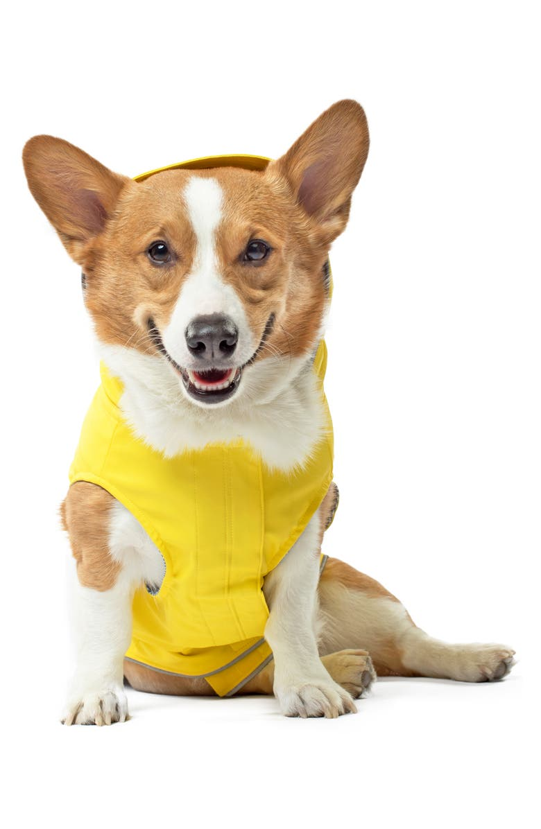 CANADA POOCH Torrential Tracker Water Resistant Dog Coat, Main, color, YELLOW