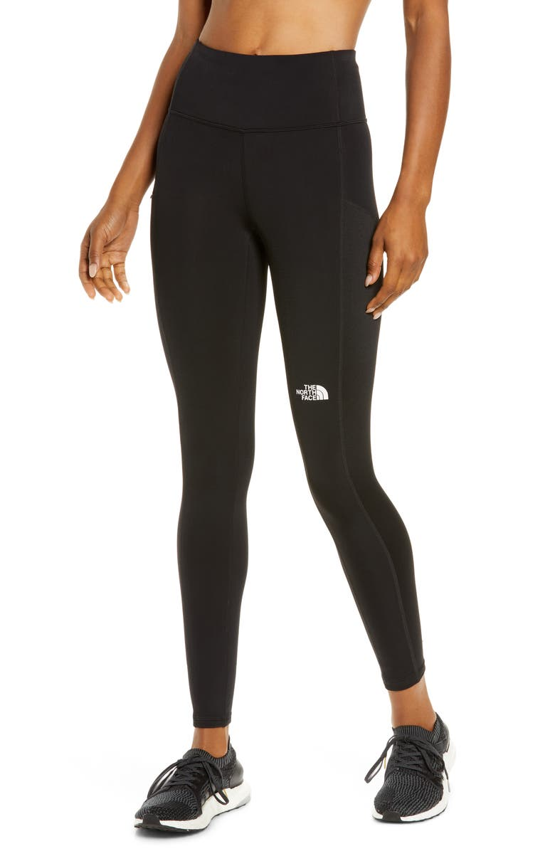 THE NORTH FACE Winter Warm High Rise Tights, Main, color, TNF BLACK