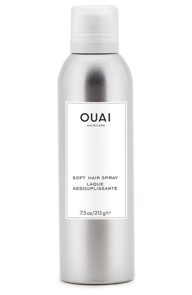 OUAI Soft Hair Spray, Main, color, 000