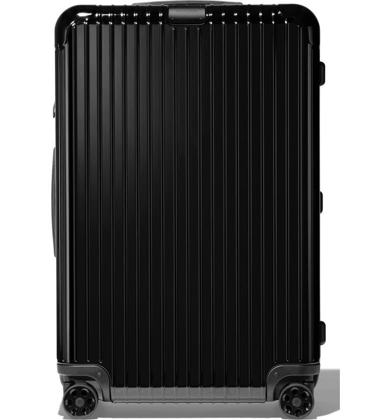 RIMOWA Essential Check-In Large 31-Inch Wheeled Suitcase, Main, color, BLACK