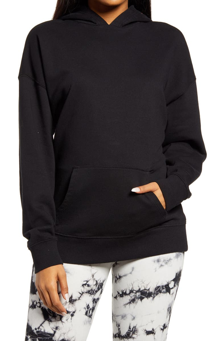BP. Hooded Pullover, Main, color, BLACK