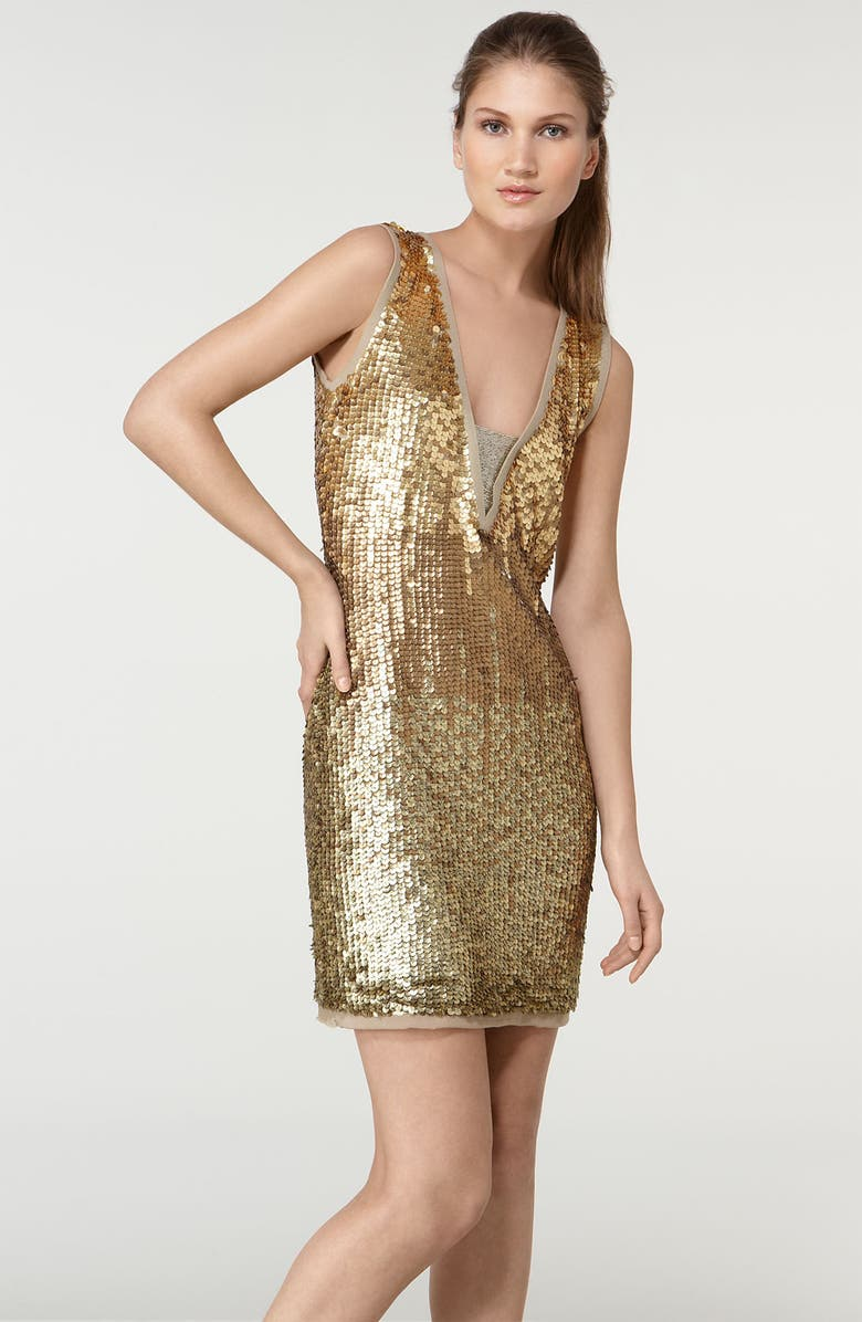 TORY BURCH 'Panzi' Sequin Dress, Main, color, 280