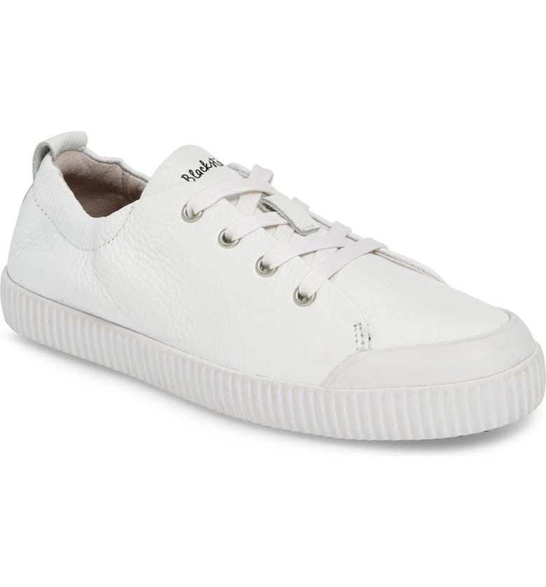 BLACKSTONE RL78 Low Top Sneaker, Main, color, WHITE LEATHER