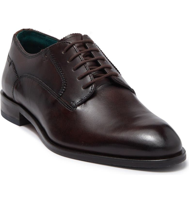 TED BAKER LONDON Parals Leather Derby, Main, color, BROWN