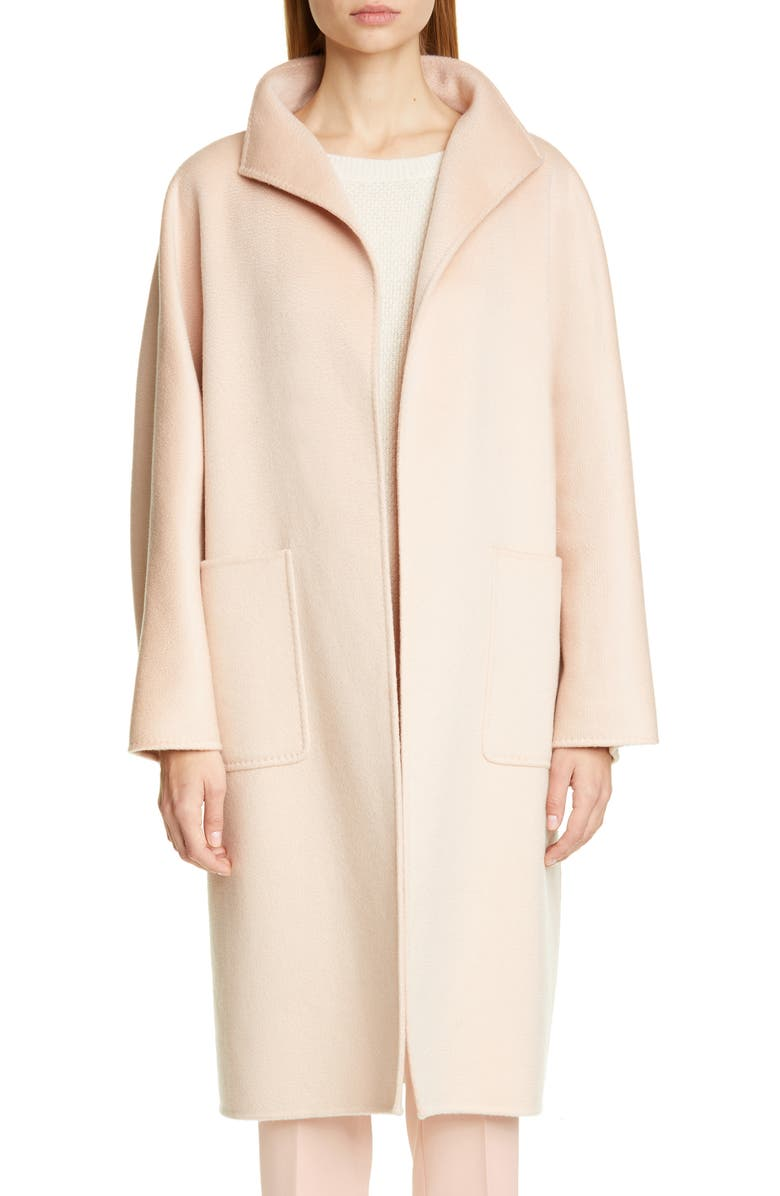 MAX MARA Lilia Double Face Cashmere Car Coat, Main, color, 664