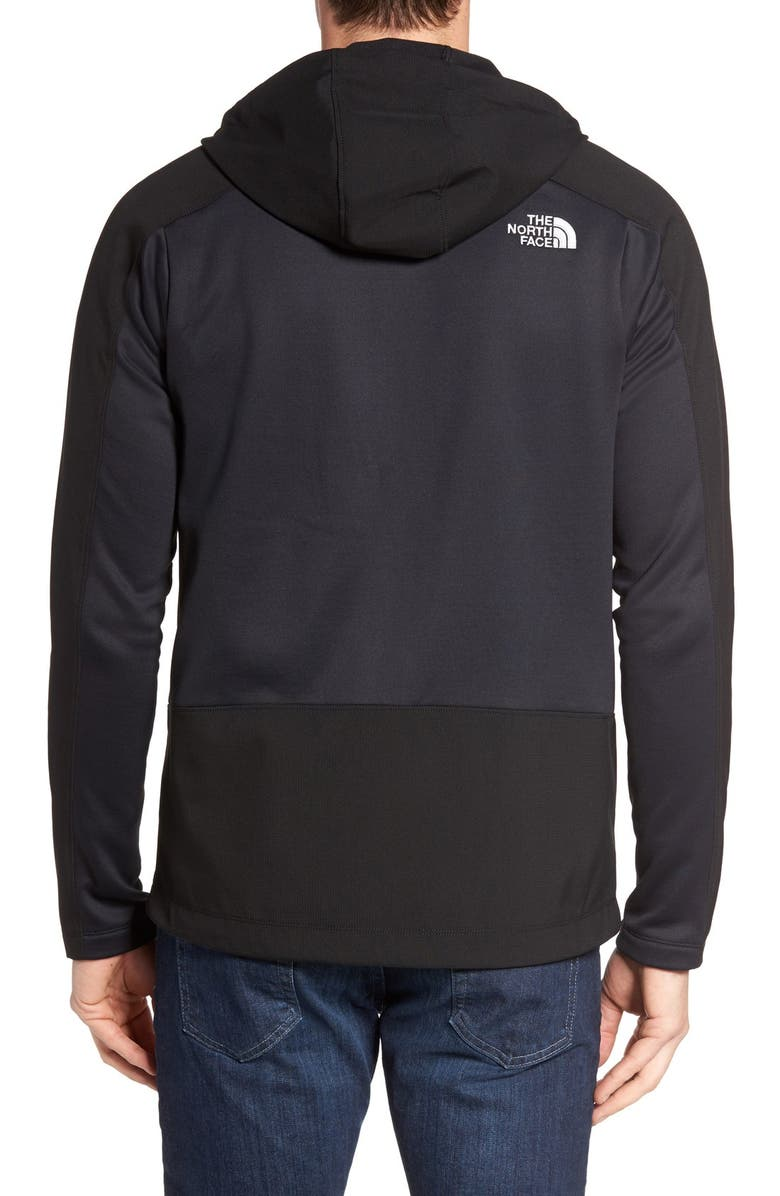 THE NORTH FACE Tenacious Active Fit Hooded Jacket, Main, color, 001