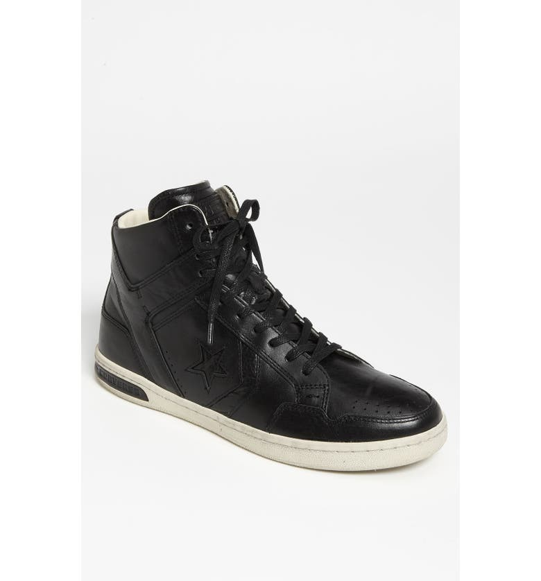 CONVERSE BY JOHN VARVATOS 'Weapon Mid' Sneaker, Main, color, Black