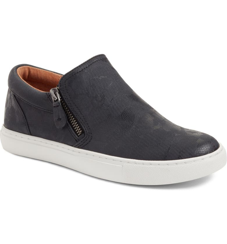 GENTLE SOULS BY KENNETH COLE Lowe Sneaker, Main, color, BLACK PRINTED LEATHER