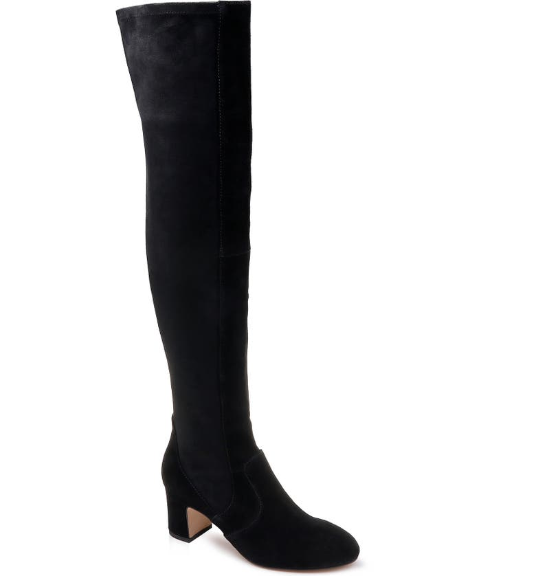 SPLENDID Over the Knee Stretch Back Boot, Main, color, 013