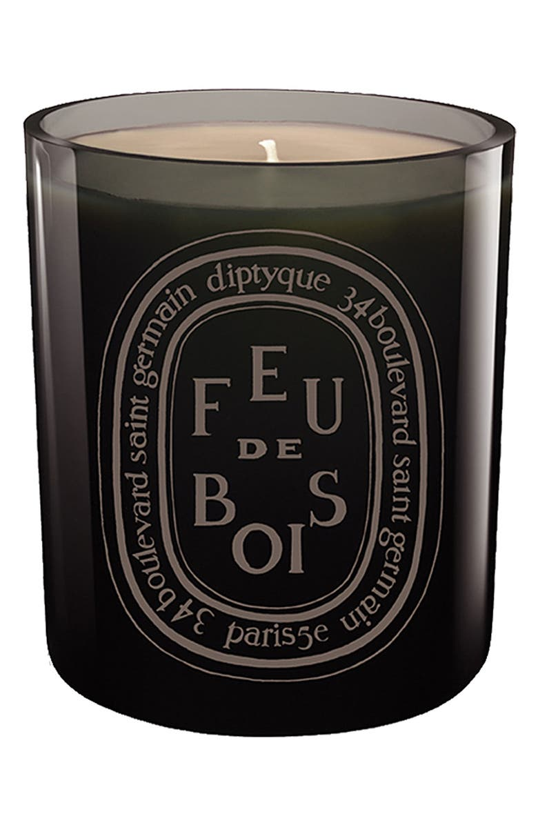DIPTYQUE Feu de Bois/Wood Fire Candle, Main, color, NO COLOR