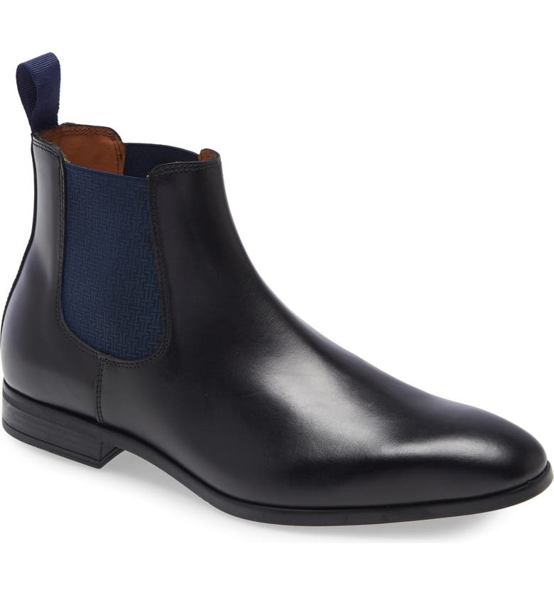 TED BAKER LONDON Marson Water Resistant Chelsea Boot, Main, color, 001