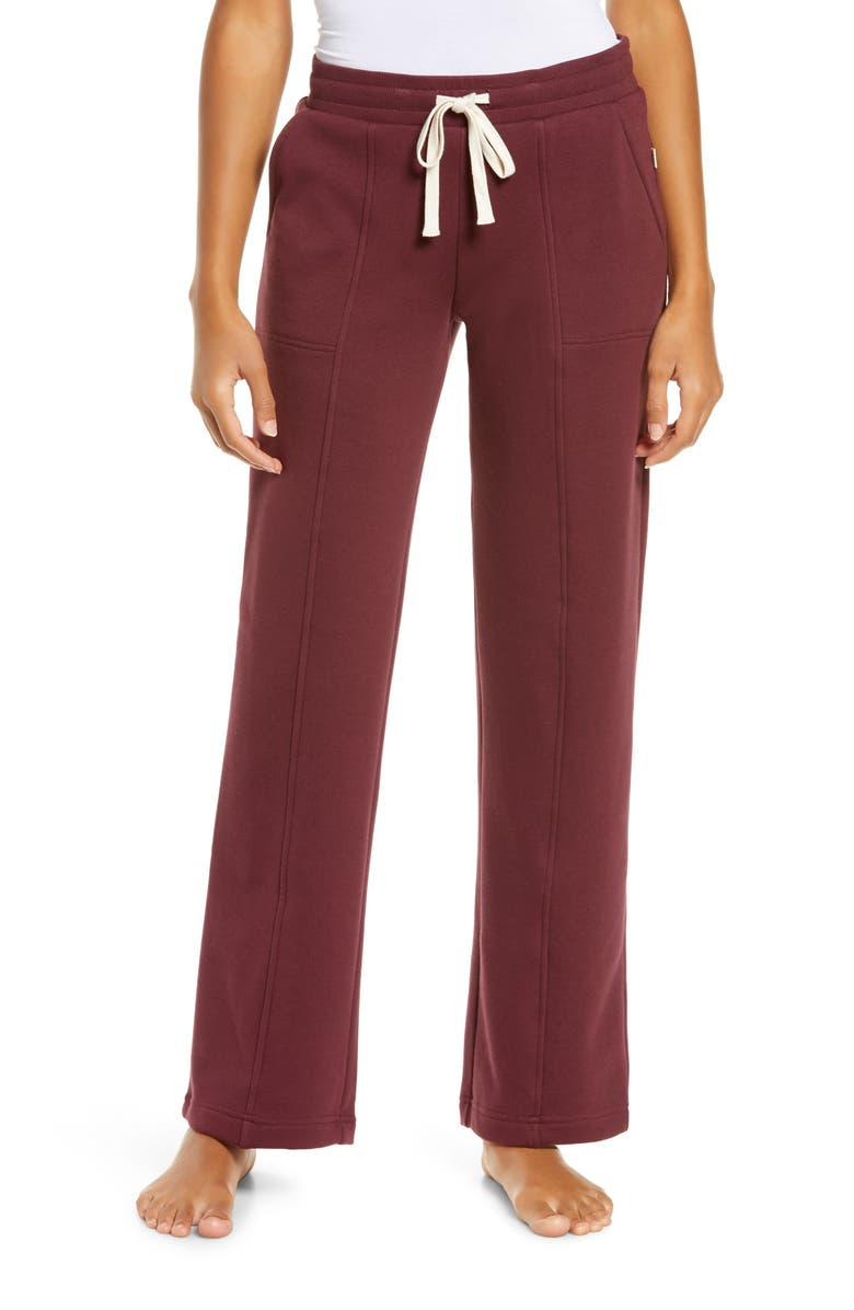 UGG<SUP>®</SUP> Shannon Double Knit Lounge Pants, Main, color, WILD GRAPE