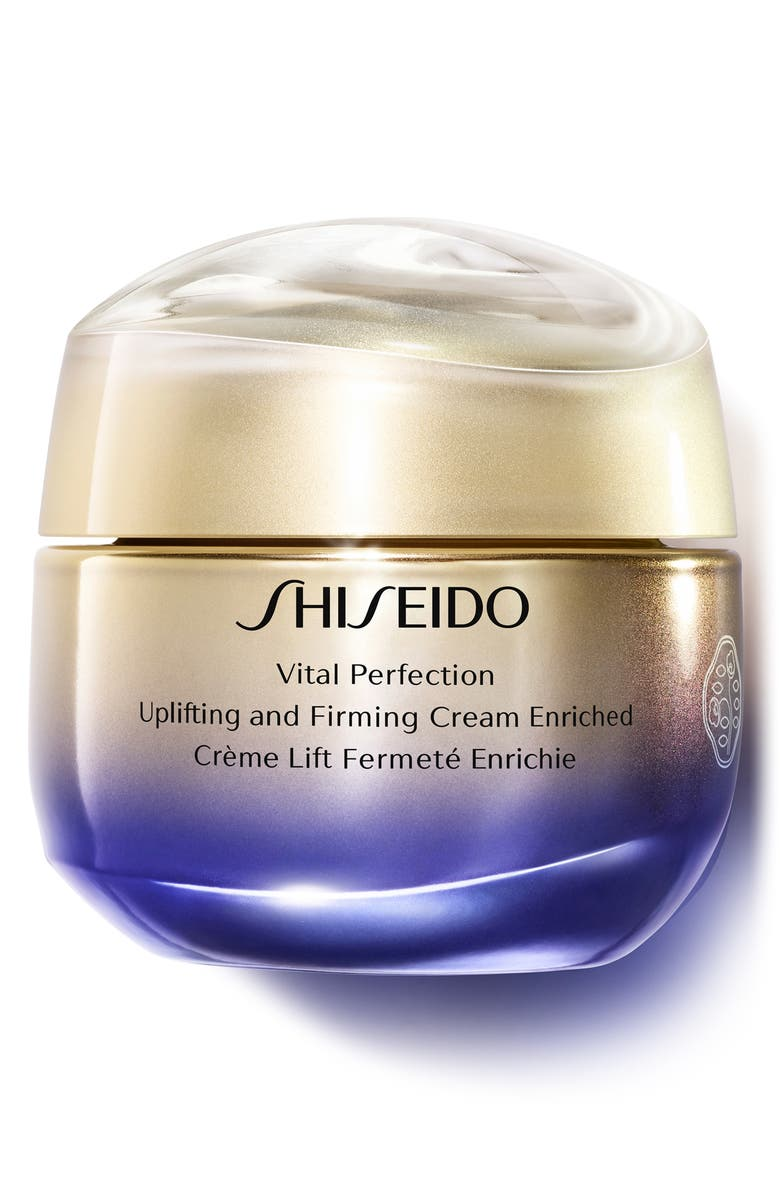 SHISEIDO Vital Perfection Uplifting and Firming Face Cream Enriched, Main, color, NO COLOR