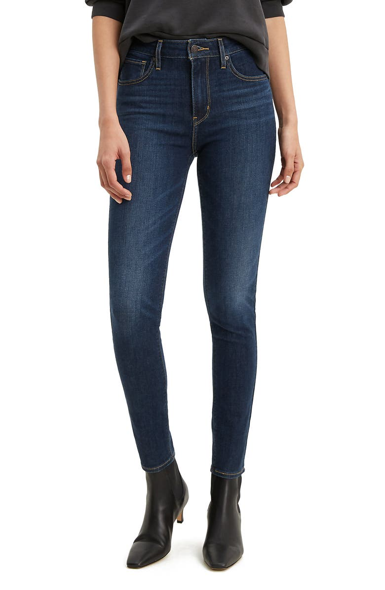 LEVI'S<SUP>®</SUP> 721<sup>™</sup> High Waist Skinny Jeans, Main, color, SMOOTH IT OUT