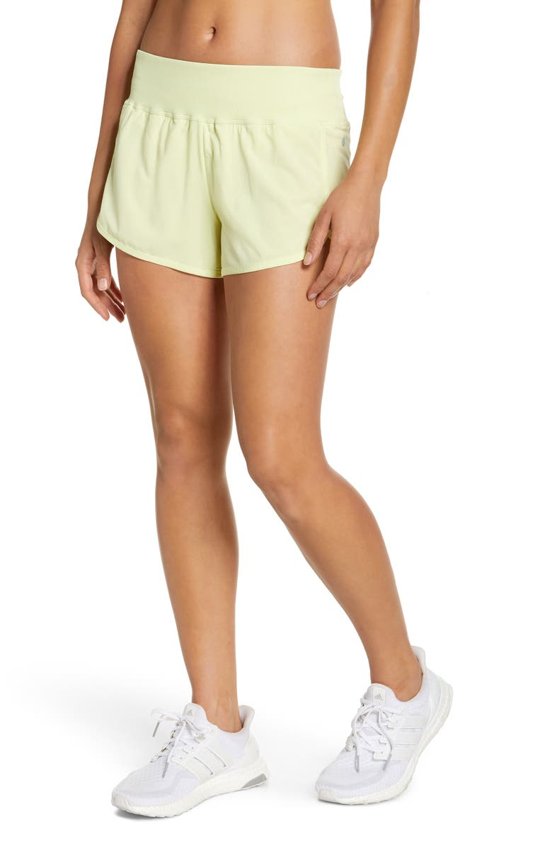 ZELLA Aero Shorts, Main, color, GREEN FINCH