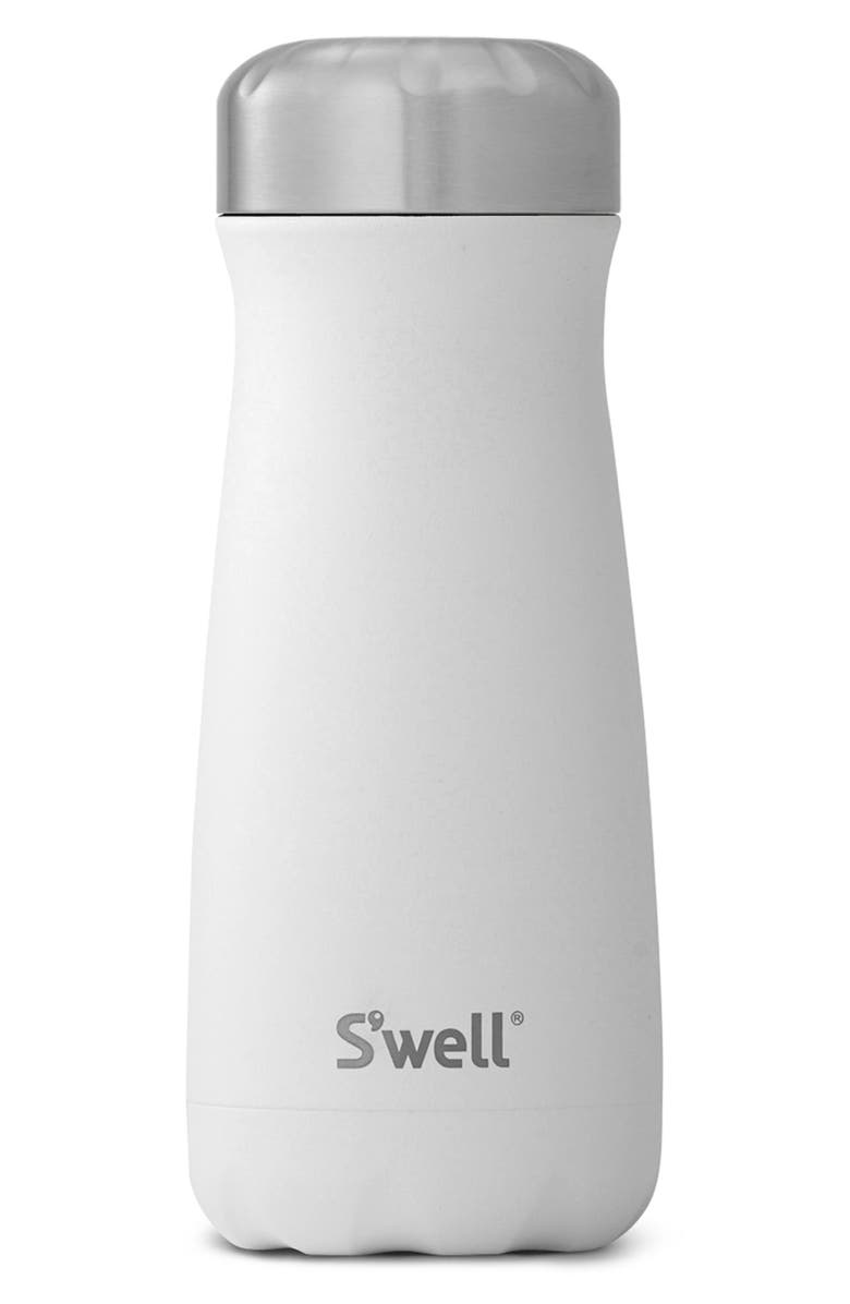 S'WELL Traveler Moonstone 16-Ounce Insulated Stainless Steel Water Bottle, Main, color, MOONSTONE