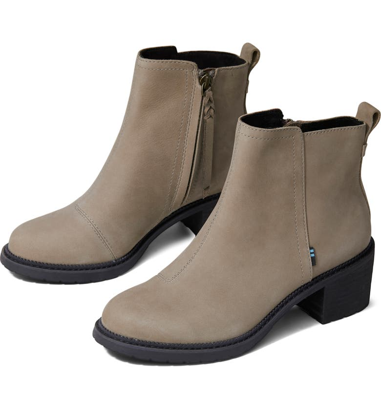 TOMS Marina Bootie, Main, color, TAUPE