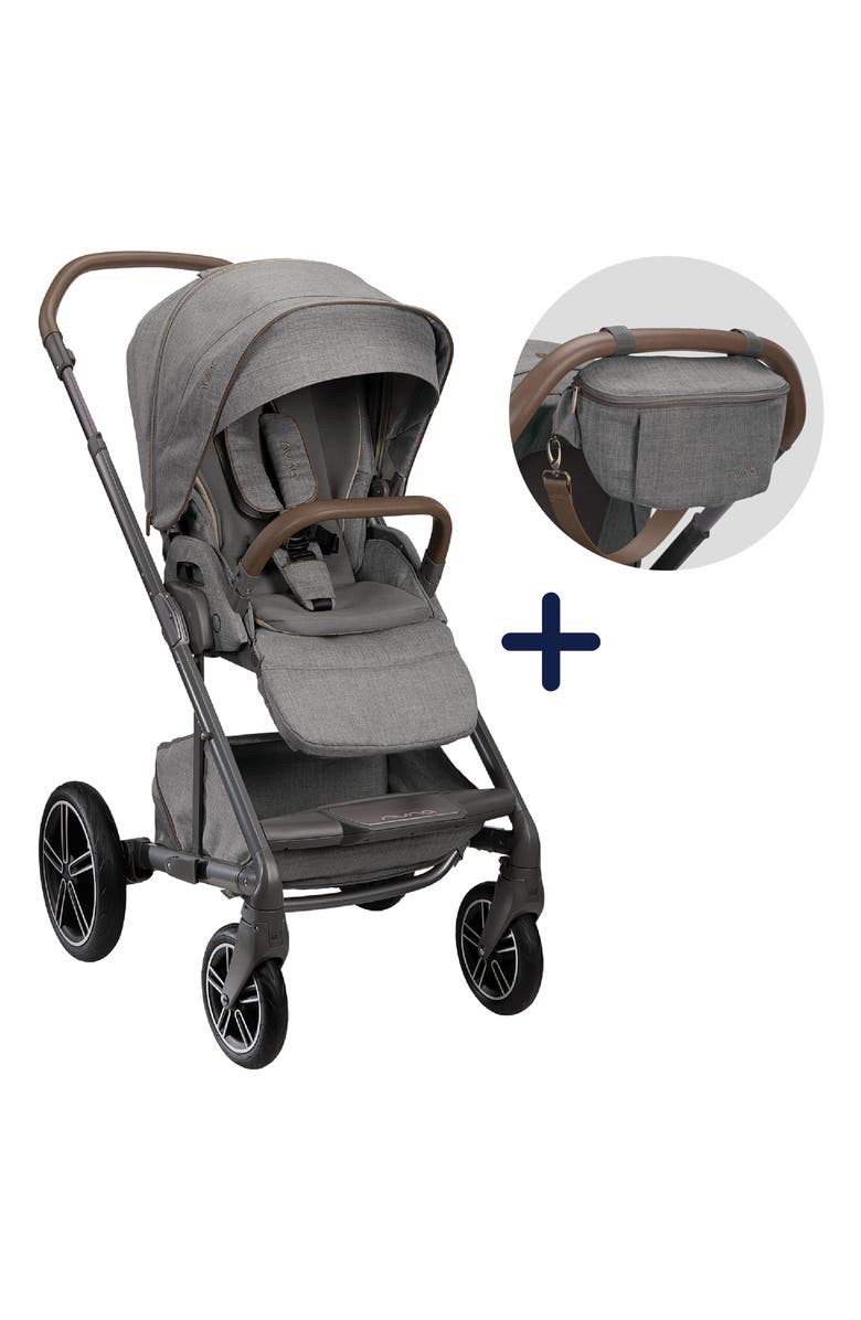 NUNA 2021 MIXX<sup>™</sup> next Refined Collection Stroller & Sling Bag Set, Main, color, REFINED
